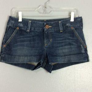 American Eagle Ladies Denim Booty Shorts Sz 4